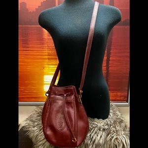 ⭕️SOLD⭕️Vintage Cartier Bucket Bag